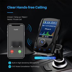 COQUE MP3-MP4 Transmetteur FM Bluetooth mains libres Car MP3 FM