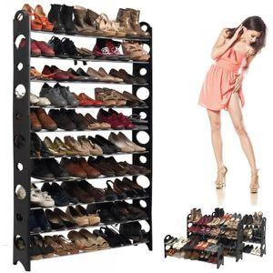 MEUBLE À CHAUSSURES Etagère range chaussures modulable 50 paires