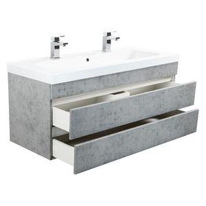 Meuble salle de bain sans vasque