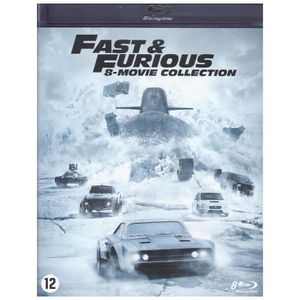 BLU-RAY FILM Fast and Furious - coffret Films 1 a 8 (Blu Ray)