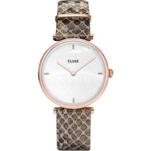 montre cluse femme bracelet cuir