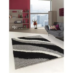 tapis shaggy achat vente tapis shaggy pas cher black friday le 24 11 cdiscount. Black Bedroom Furniture Sets. Home Design Ideas