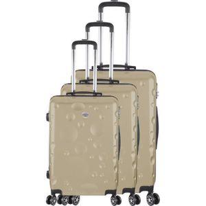 SET DE VALISES FRANCE BAG Set de 3 Valises 8 roues abs/polycarbon