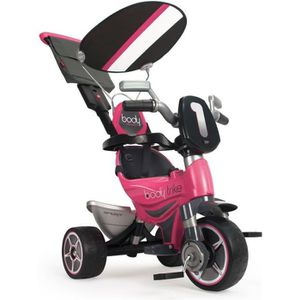 TRICYCLE INJUSA Tricycle Rose avec Pare Soleil Fille
