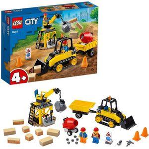 ASSEMBLAGE CONSTRUCTION LEGO® City 4+ - 60252 Le chantier de démolition