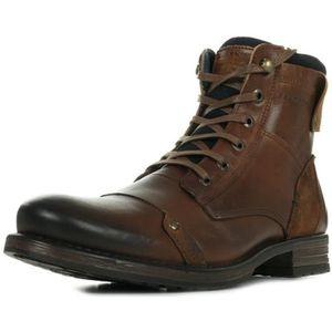 BOTTINE Boots Redskins Yani Cognac Marine
