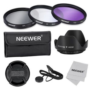 FILTRE PHOTO Neewer 55mm Filtre Kit pour Canon Nikon Sony Samsu