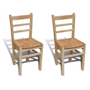 CHAISE Ensemble de table et de chaises de salle à manger