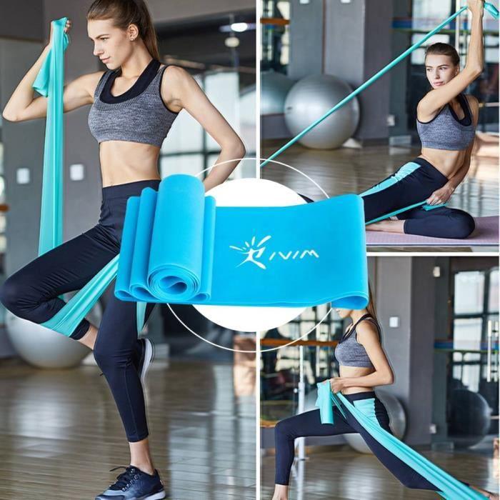 Bande élastique civière élastique exercice élastique équipement de Fitness tirer corde aérobic Yoga Crossfit