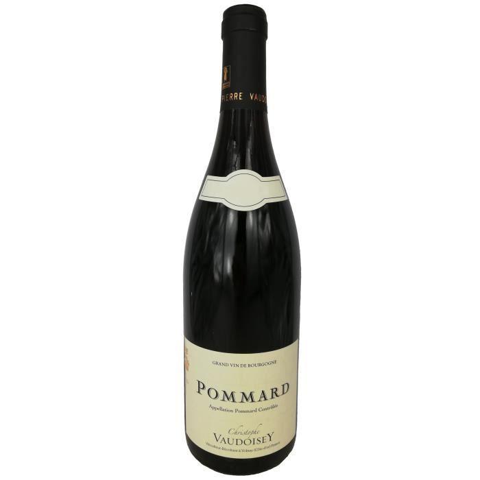 Pommard 2018 Domaine Vaudoisey - 75 cl - Vin Rouge AOP de Bourgogne - Cépage Pinot Noir