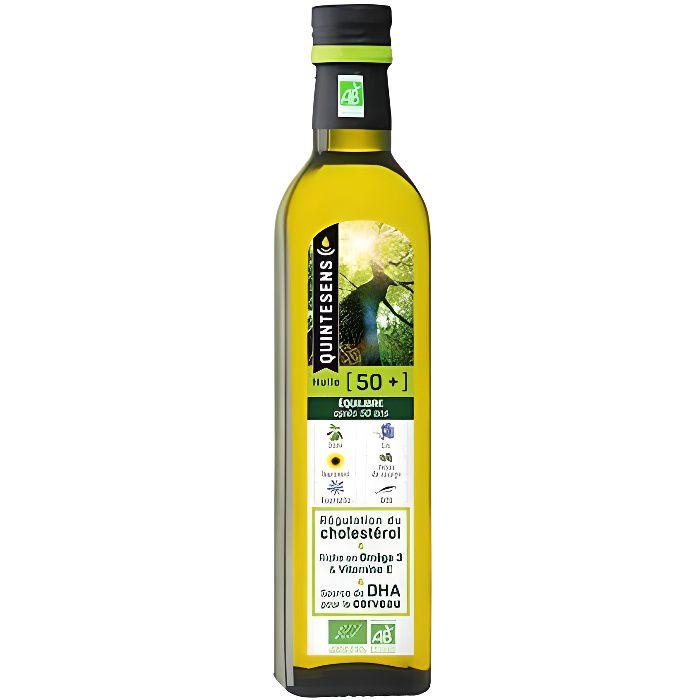 Synergie de 6 huiles essentielles qui apporte 90% de vos besoins en Oméga 3.