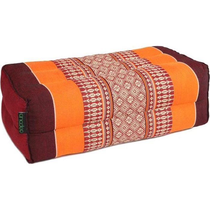 STANDARD - Tapis de Yoga et Méditation Standard Zafu - Burgundy Orange - x1