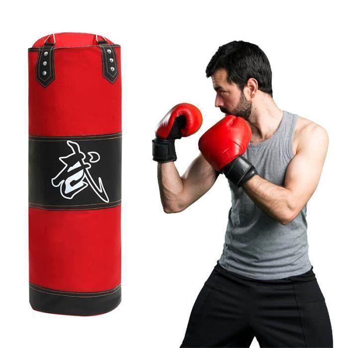 TEMPSA 100cm Sac de frappe Boxing Sport Fitness Combat Punching Boxe (Sans Gants)
