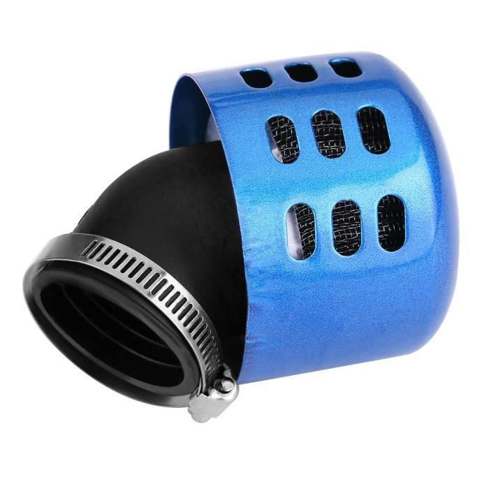 Zerodis filtre à air d'admission Ensemble de filtre à induction d'admission d'air modifié de 35 mm pour moto 100-150CC bleu