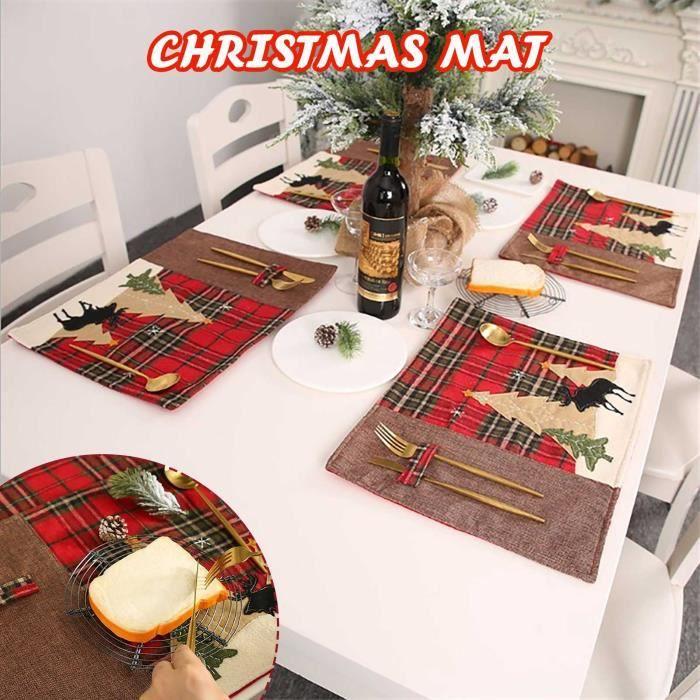 Objet Decoratif Set De Table Noël Multicolor 12