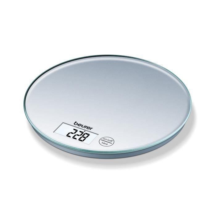 Beurer Balance de cuisine KS 28 5 kg Argenté