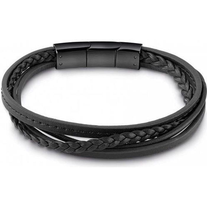 GUESS – Bracelet - Homme - UMB28040 - Cuir
