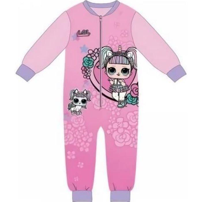 Pyjama combinaison Lol Surprise vendu à l'unité