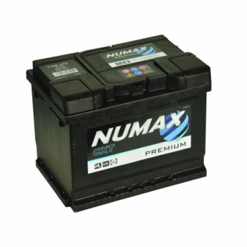 Batterie de démarrage Numax Premium LB2G 078 12V 60Ah / 500A