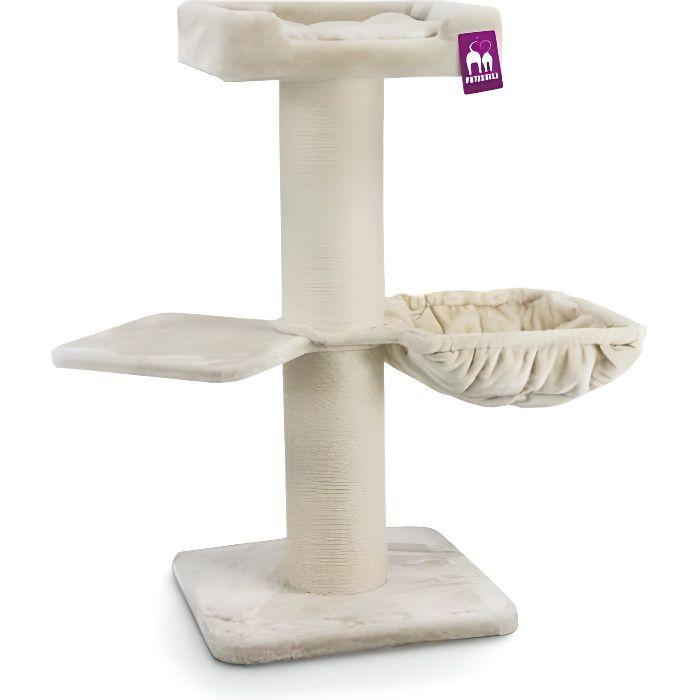 Arbre à chat Maine Coon 117 cm - PETREBELS 0,000000 Crème