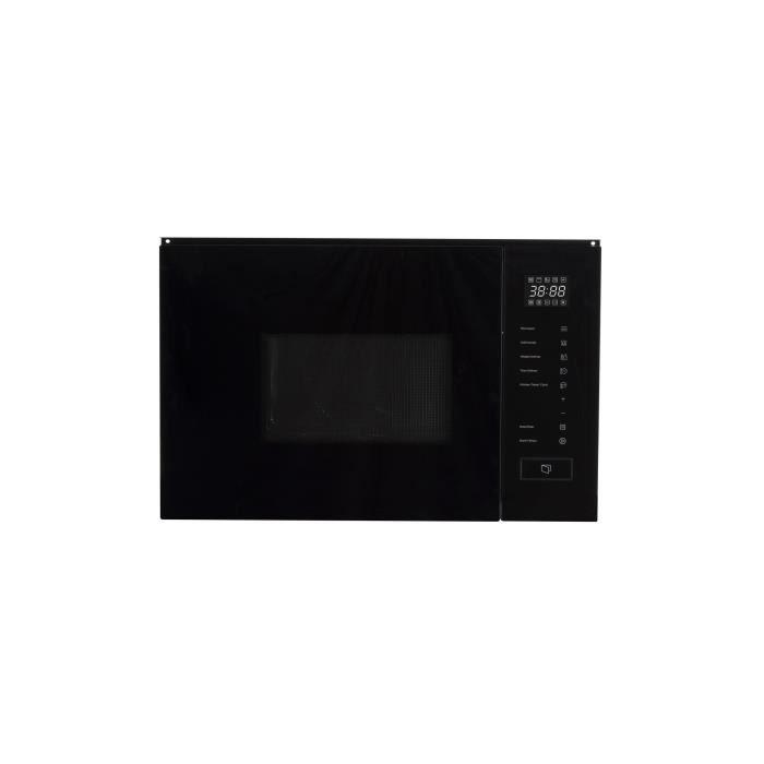 SHARP KM-2002B Micro-ondes gril - Noir - 20L - 800W - Grill : 1000W - Encastrable