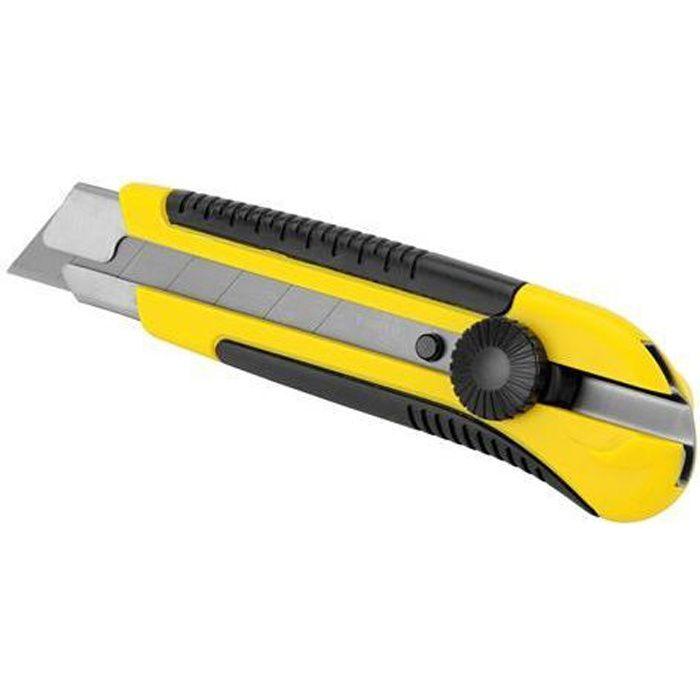 STANLEY Cutter bimatière 25mm