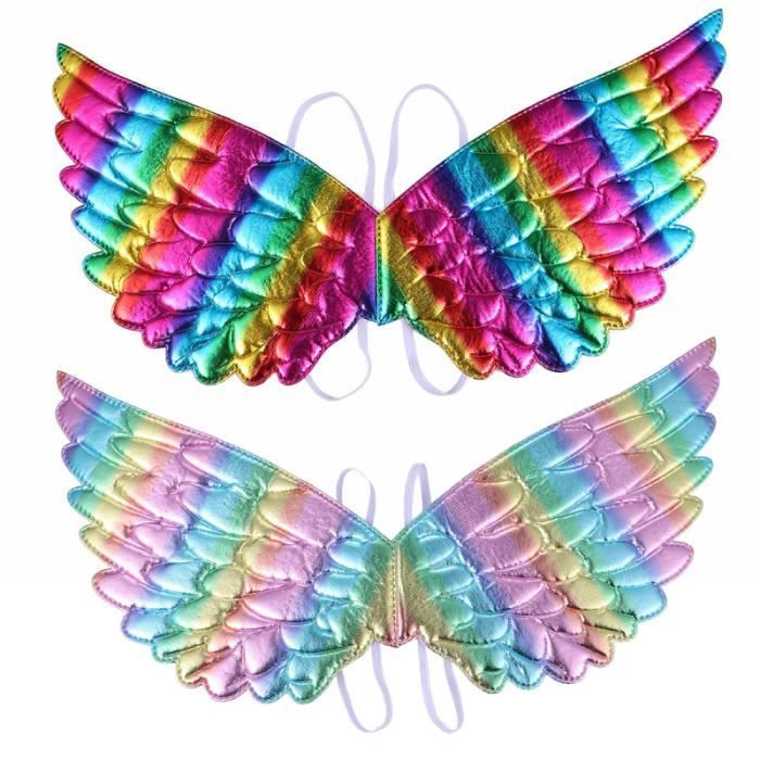 1 PC aile de fête décorative créative colorée durable de licorne accessoires de WALL PARTY DECORATION - HANGING PARTY DECORATION