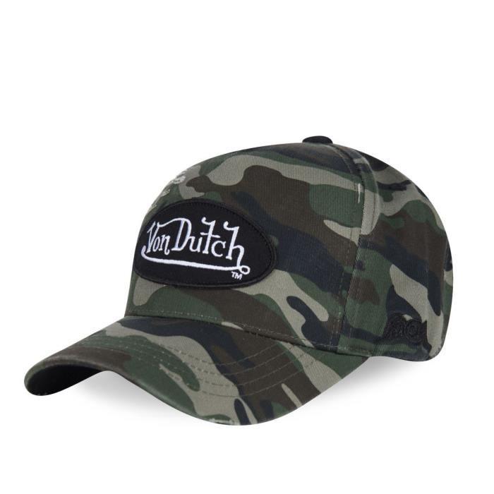 Von Dutch - Von Dutch Casquette Style Baseball Camouflage