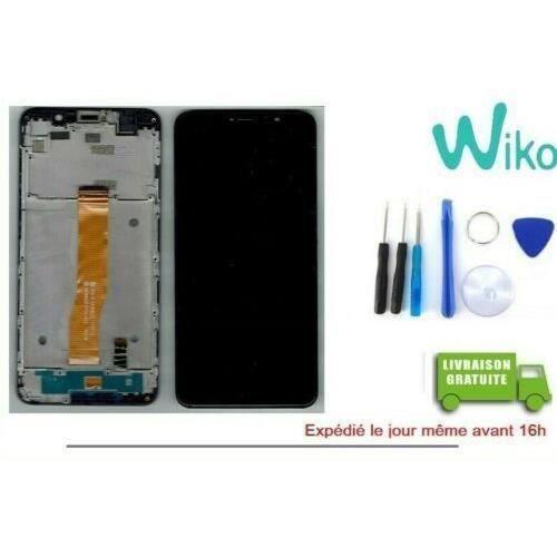 Vitre Tactile + ecran LCD + Chassis Original Pour Wiko Y80 + Outils