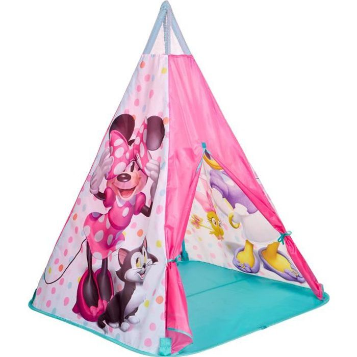 MINNIE MOUSE Tente de jeu Tipi enfant Rose