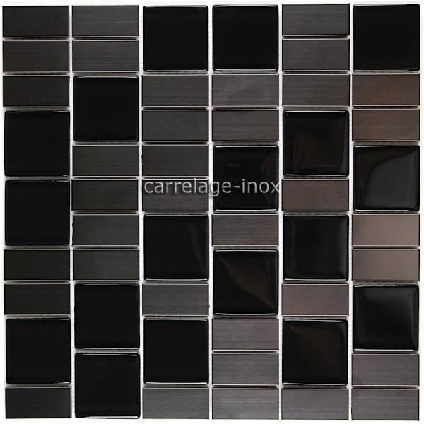 carrelage inox pour credence cuisine mi mod achat vente carrelage parement cdiscount. Black Bedroom Furniture Sets. Home Design Ideas