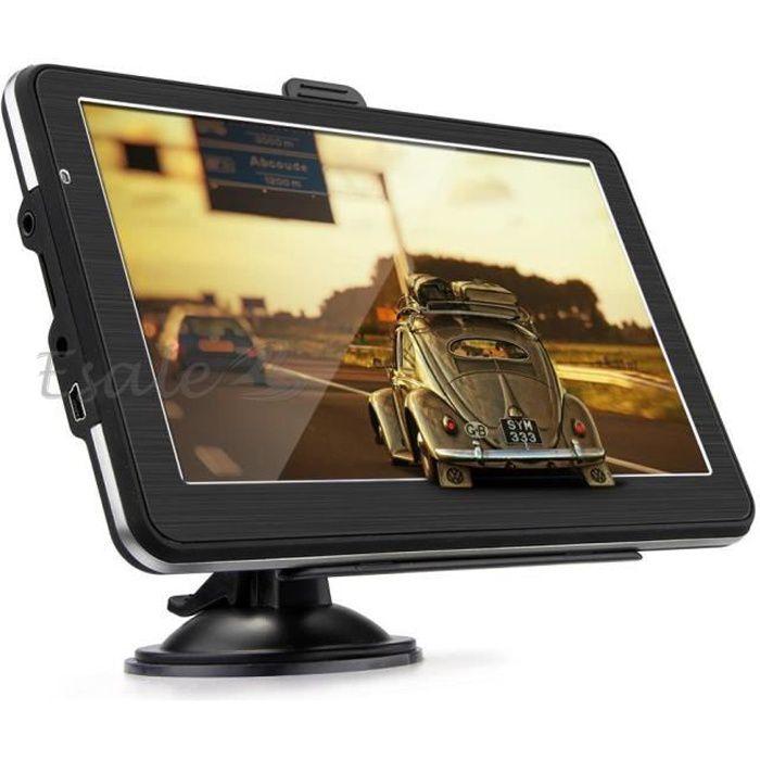 """GPS AUTO 7"""" Système de Navigation Navi GPS 128MB 8Go FM MP3"""