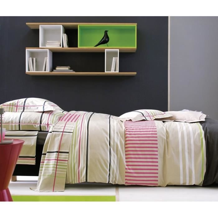sunset pink housse de couette 260x240 achat vente. Black Bedroom Furniture Sets. Home Design Ideas