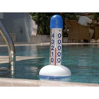 Thermom tre g ant 38cm pour piscine thermom tre flottant for Thermometre piscine connecte