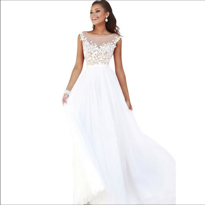 ROBE Evening Dresses Long Plus Size Tulle Prom Party Go