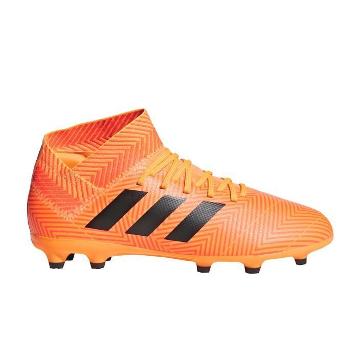 Junior Adidas Football 3 Chaussures Nemeziz Orange Fg 18 EH2YeDI9W