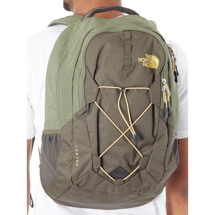 452a489092 Sac à Dos The North Face Jester - 26 Litre New Taupe Vert-Four Leaf ...