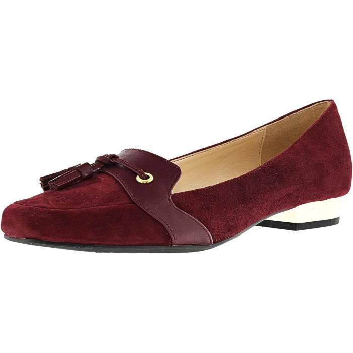 Paulina Suede Ankle-high Leather Loafer S857X Taille-39 1-2