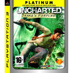 JEU PS3 UNCHARTED DRAKE'S FORTUNE Platinum / JEU CONSOLE P