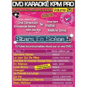 DVD MUSICAL DVD Karaoké KPM Pro Vol.25