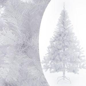 Sapin de noel artificiel blanc   Achat / Vente pas cher