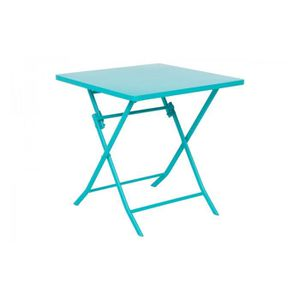 Table bistrot carree achat vente table bistrot carree - Table jardin carree ...