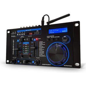 TABLE DE MIXAGE Table de mixage 2 canaux avec DSP 16 effets - Ibiz