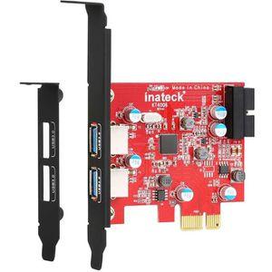 CARTE CONTROLEUR Inateck Carte Contrôleur USB 3.0 2 ports PCI Expre