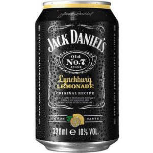 WHISKY BOURBON SCOTCH Jack Daniel's Lynchburg Lemonade 10,0 % Vol. 6 x 0