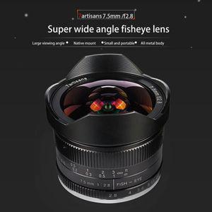 OBJECTIF Pour M43 Objectif de la caméra 7 artisan 7.5mm F2.