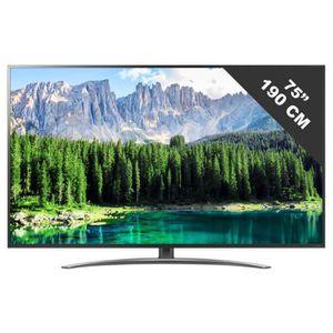 Téléviseur LED TV LED plus de 52 pouces LG - 75 SM 8610 PLA • TV