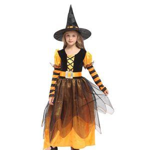 Deguisement halloween sorciere enfant