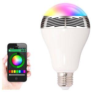 AMPOULE INTELLIGENTE Ampoule LED Lumières BL05 Multi-changement de coul