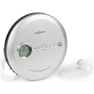 BALADEUR CD - CASSETTE Lecteur CD - oneConcept - CDC 100 BT Discman - arg